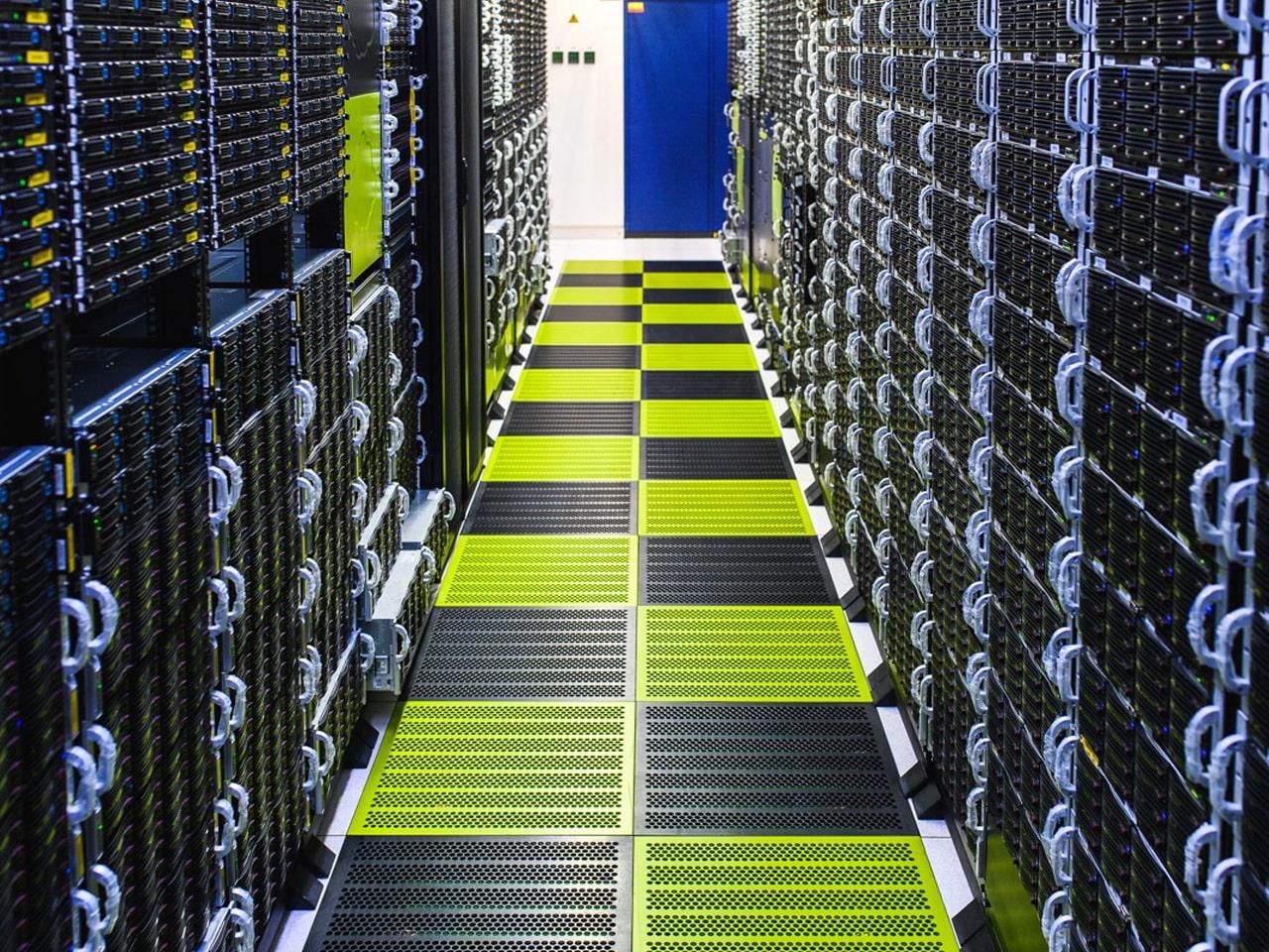 Фальшполы для серверных помещений