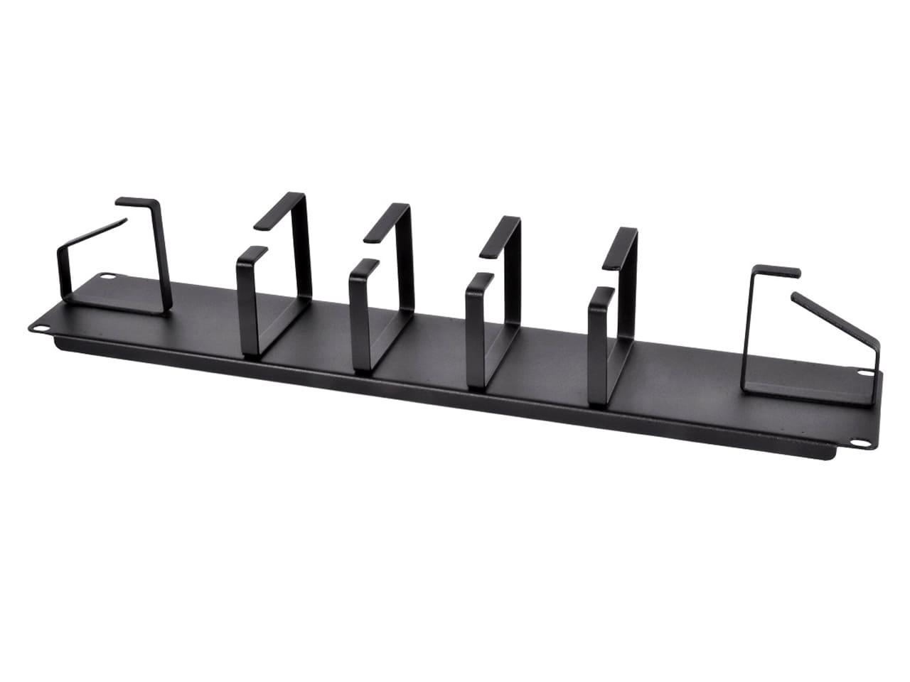 Горизонтальные кабельные органайзеры для стоек 19 дюймов