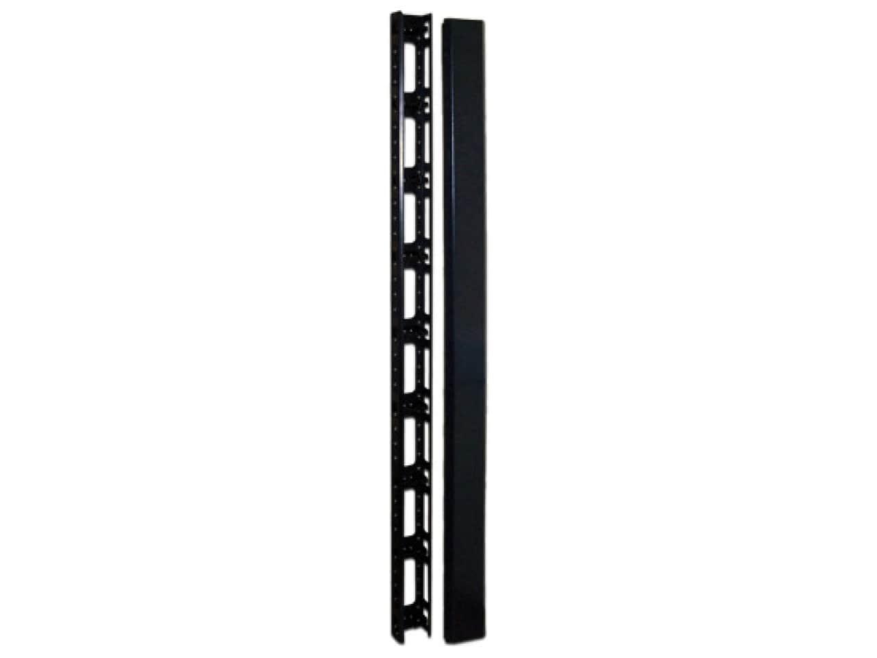 Вертикальные кабельные органайзеры для серверных шкафов