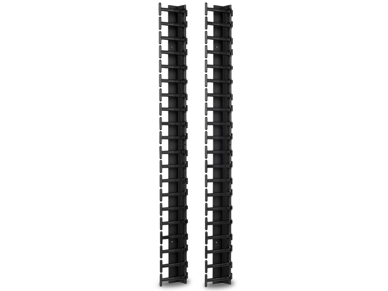 Вертикальный кабельный органайзер для монтажной стойки