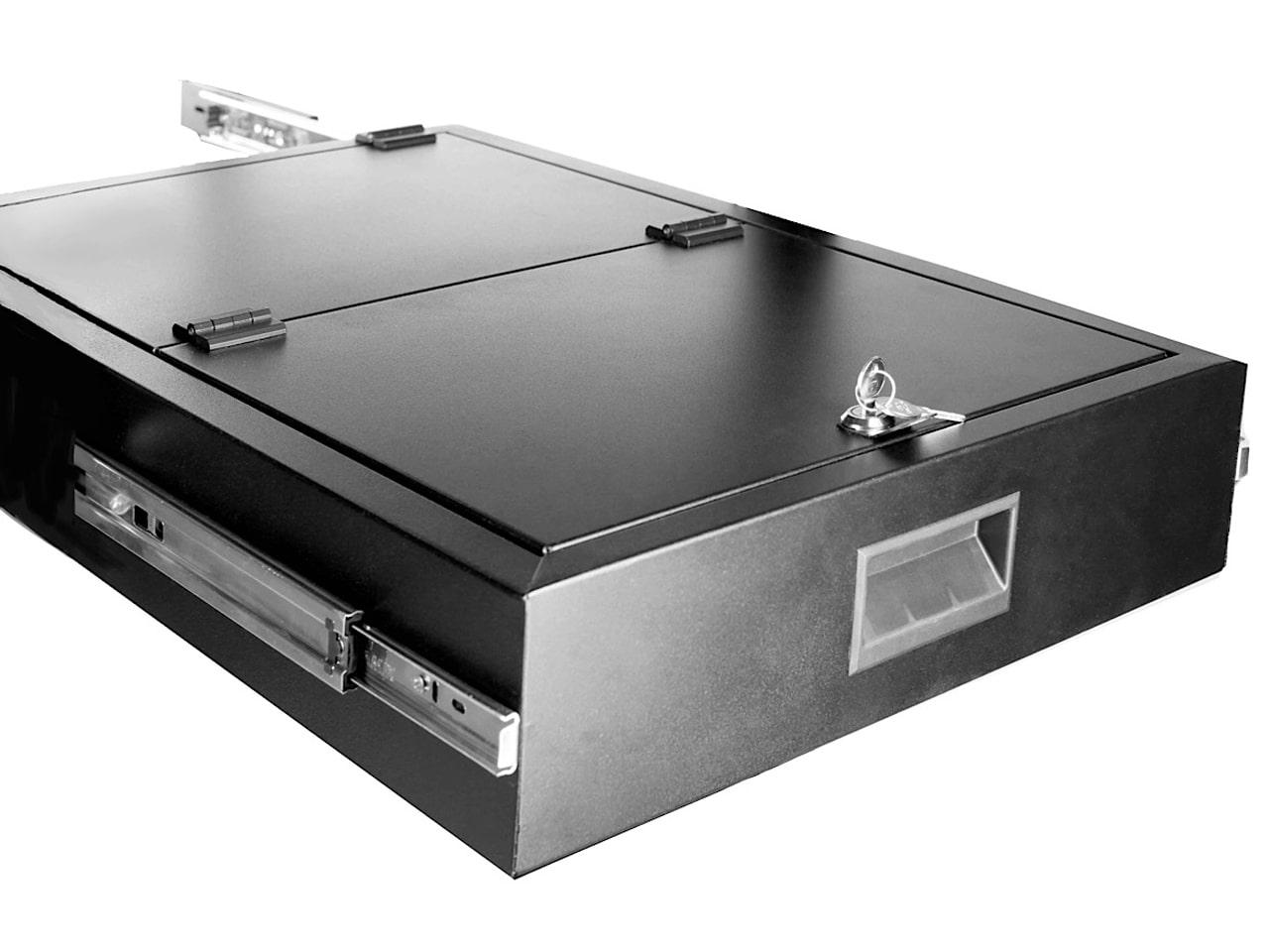 Ящик для хранения документов в телекоммуникационную стойку