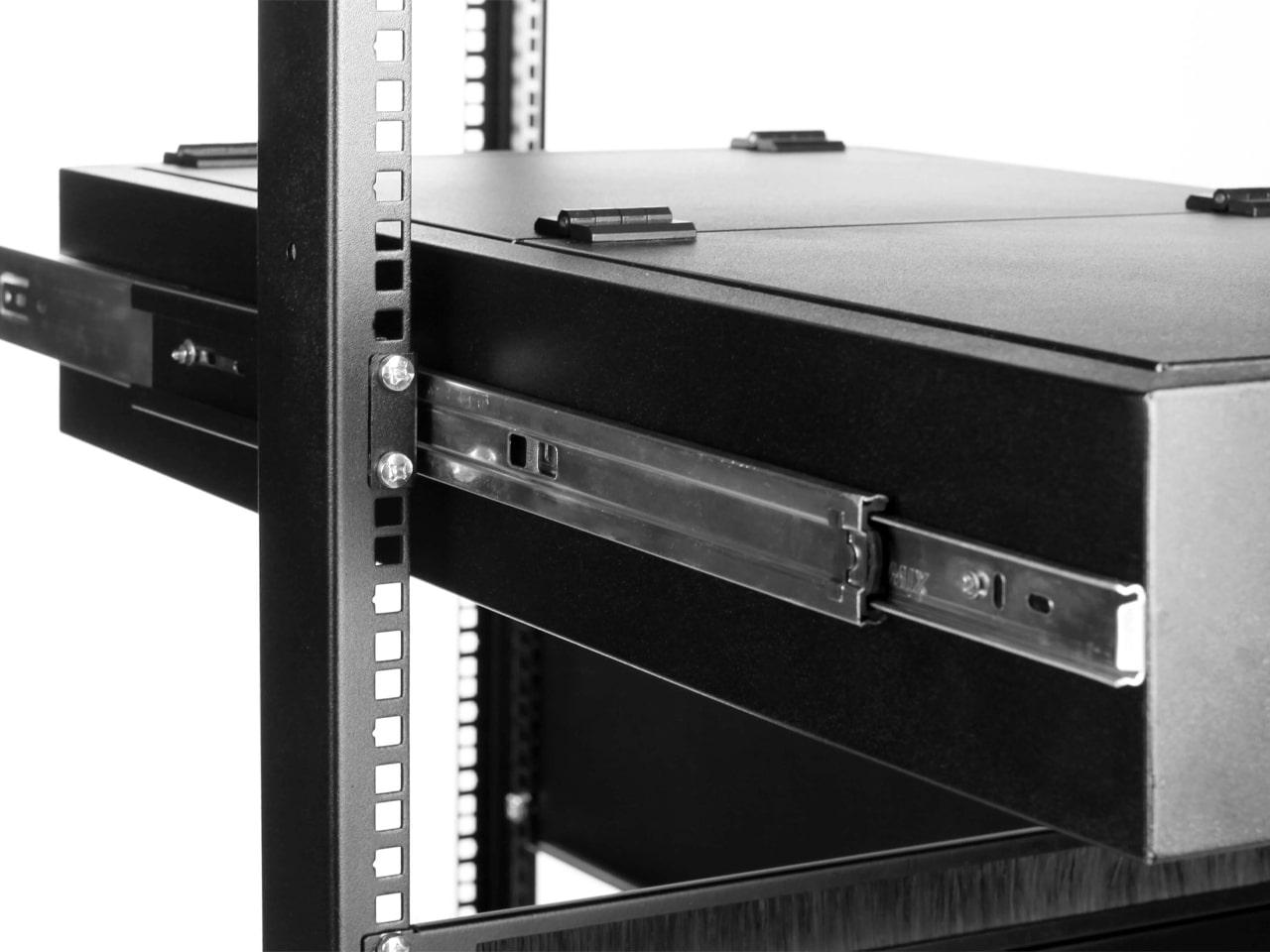 Выдвижной ящик для документов для телекоммуникационной стойки
