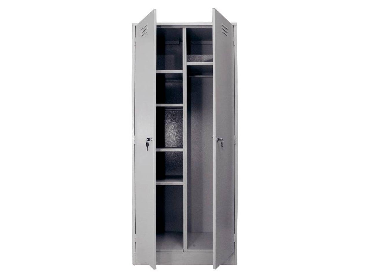 Металлический шкаф для спецодежды