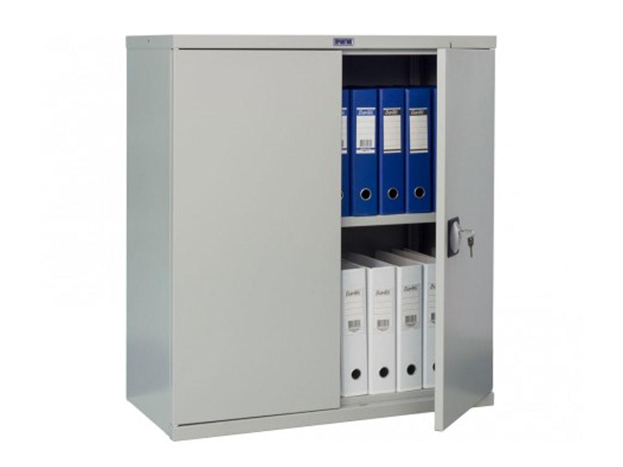 Металлический шкаф для хранения на производстве