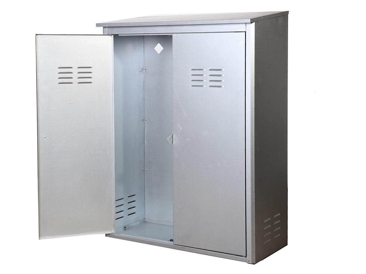 Шкаф для нескольких газовых баллонов