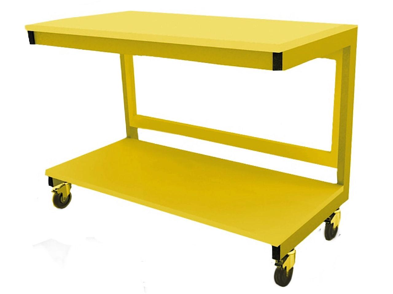 Мобильный стол для сборки серверов на колёсиках