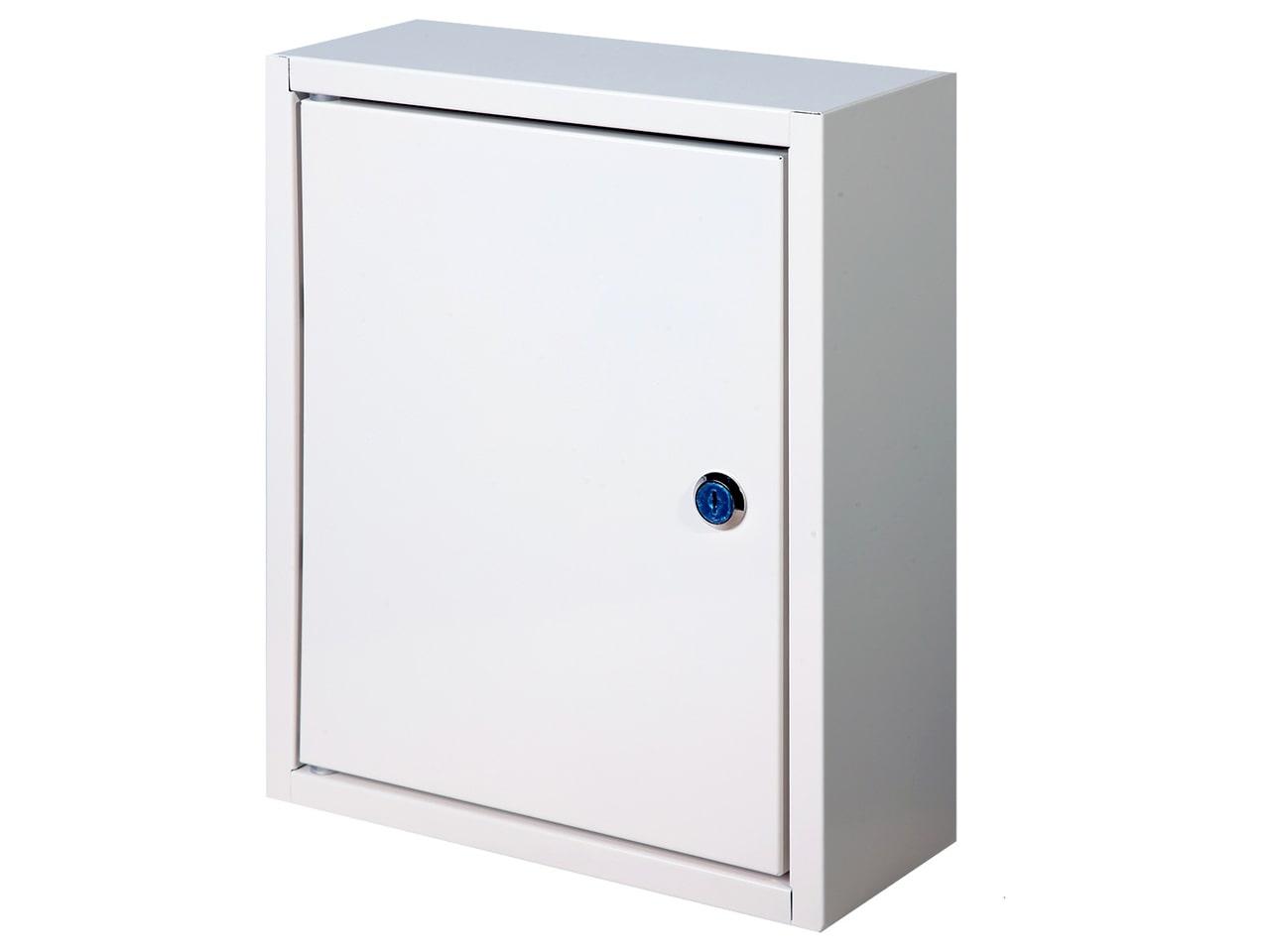 Металлический ящик для ключей с замком