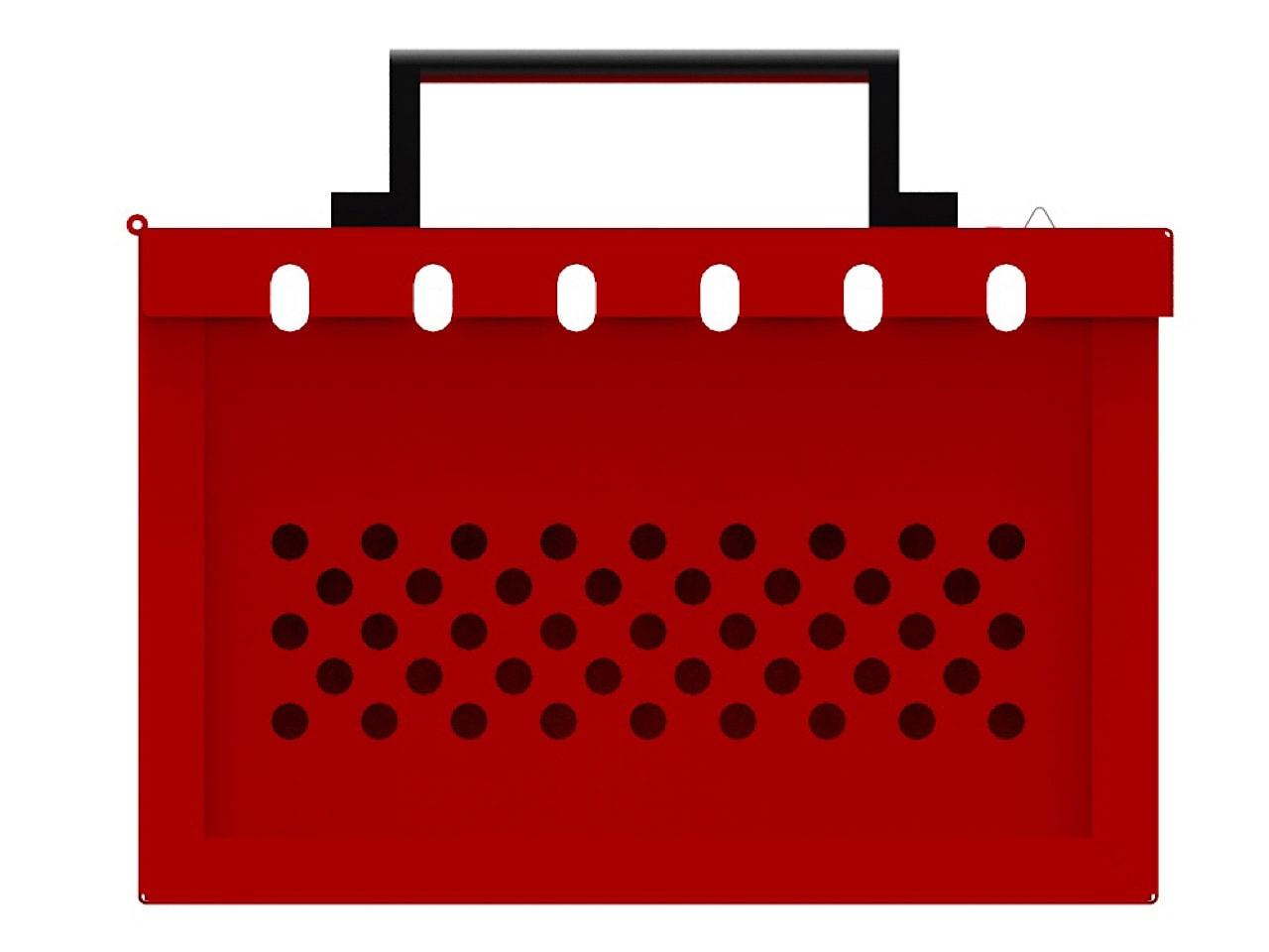 Металлический ящик для ключей переносной