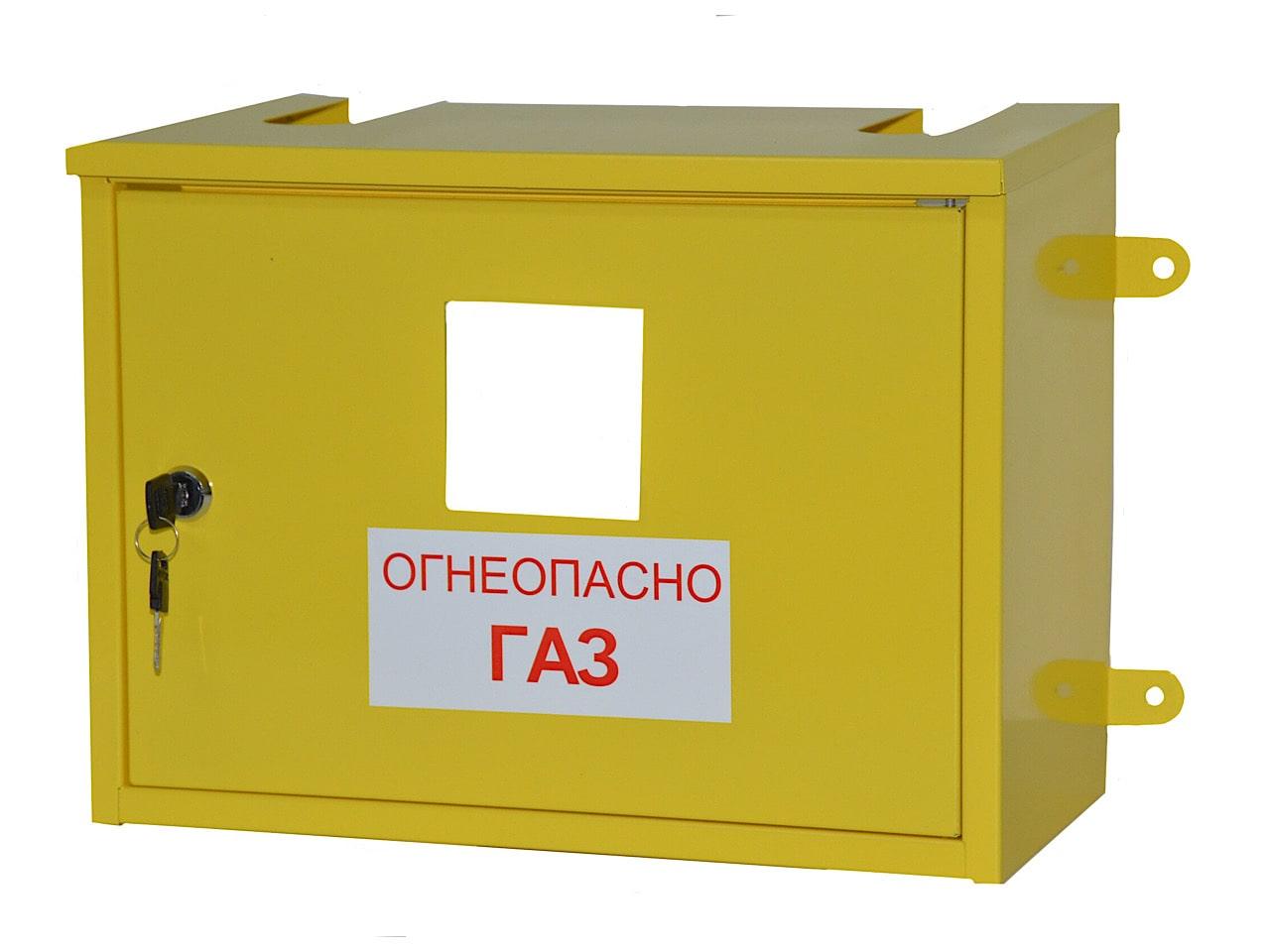Производство шкафов для газового счётчика на заказ