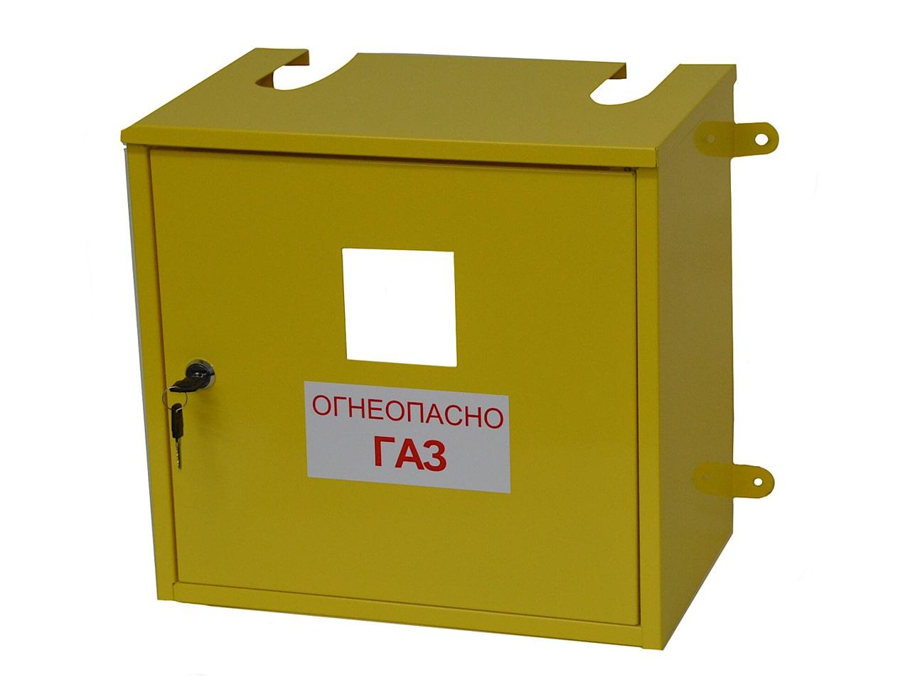 Изготовление металлических шкафов для газовых счётчиков