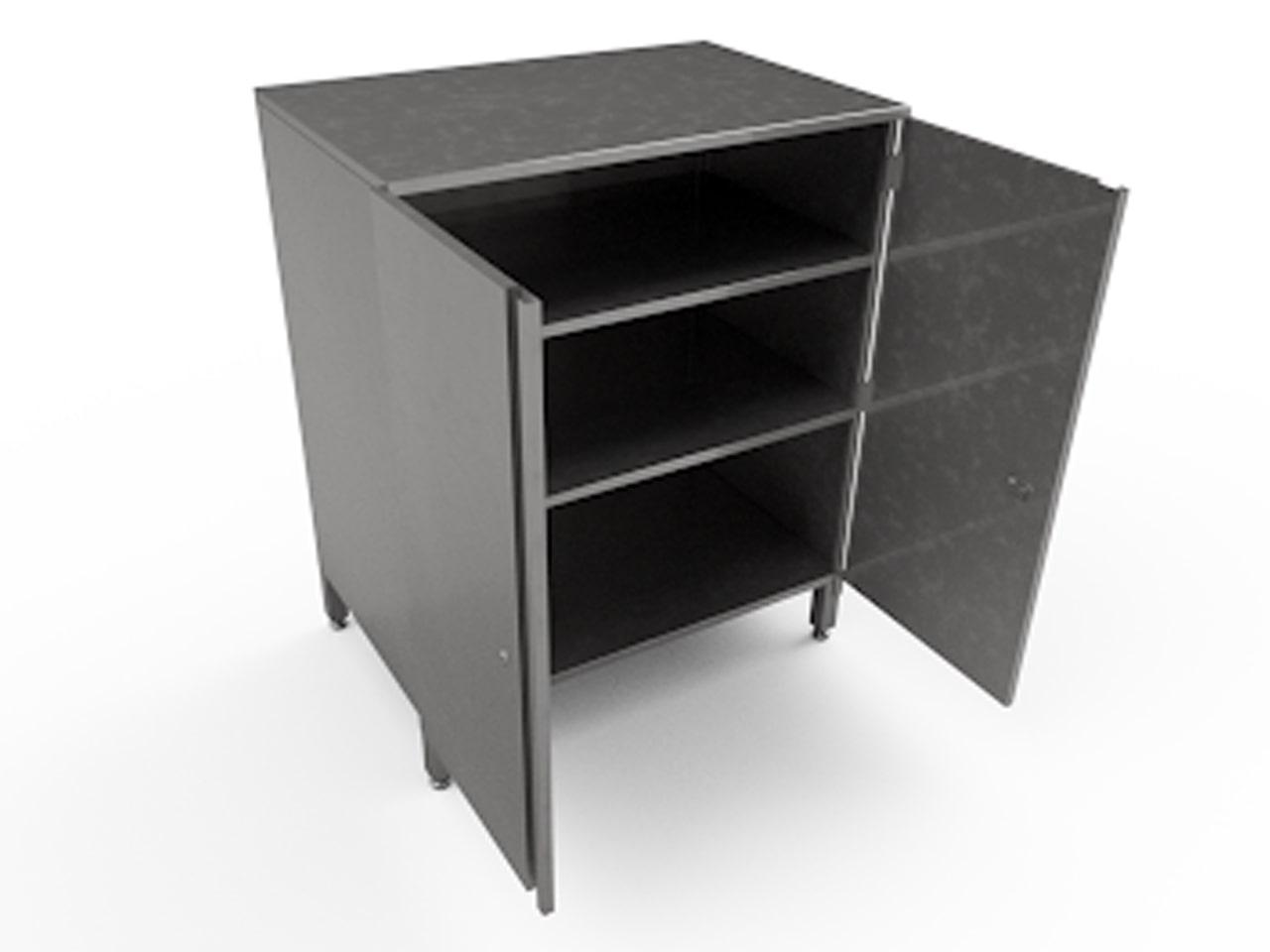 Металлический шкаф для тары на производство
