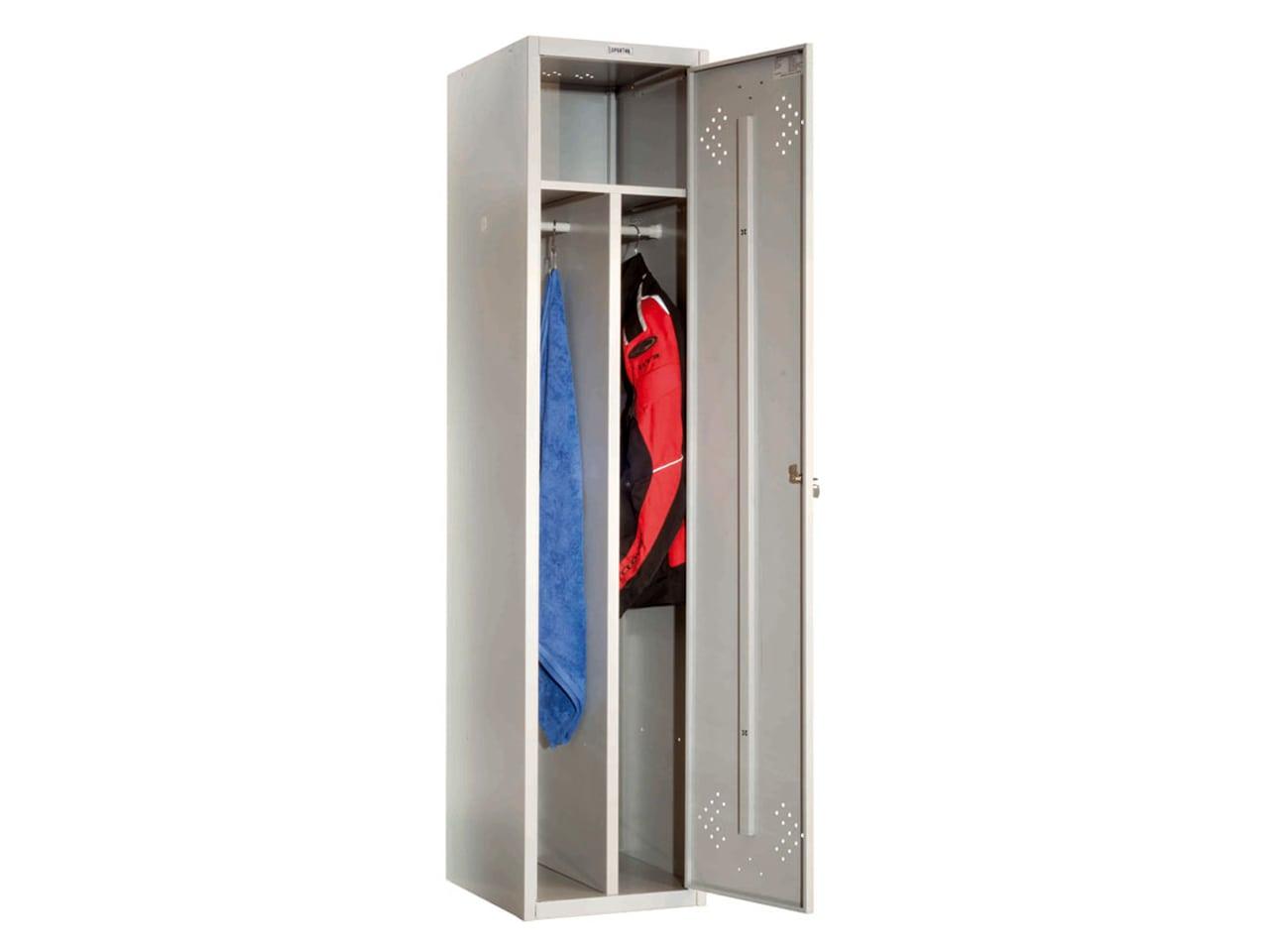 Шкаф металлический с вентиляционными отверстиями