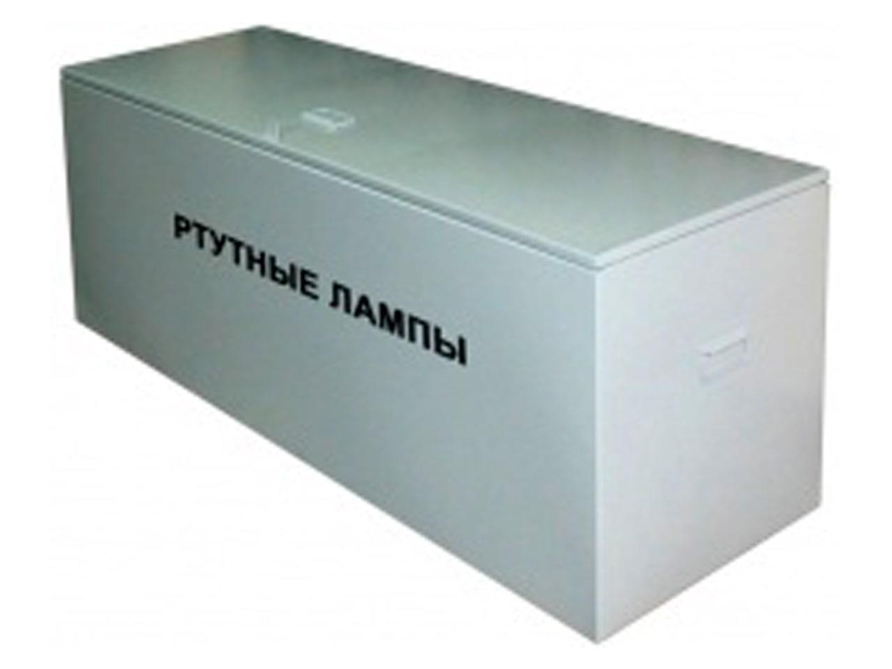 Изготовление металлических ящиков для отработанных люминесцентных ламп